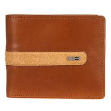 Оранжевый кожаный кошелек dbah leather