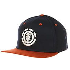 Бейсболка мужская с прямым козырьком Element Knutsen Cap Indigo