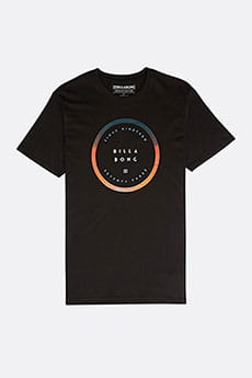 Футболка Billabong ROTATED TEE SS BLACK 8463-1