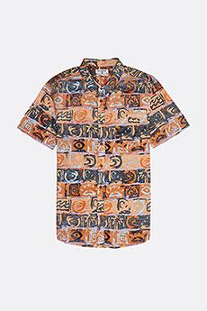 Рубашка Billabong SUNDAYS FLORAL SS ORANGE 8463-1