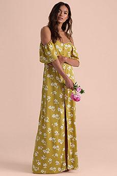 Платье женское Billabong Shoulder Sway Citrus-8460-35