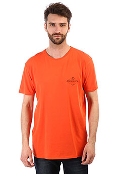 Футболка QUIKSILVER Vibedss Orange Rust