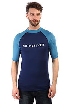 Гидрофутболка QUIKSILVER Alwaystheress Medieval Blue