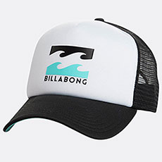 Бейсболка с сеткой Billabong Podium Trucker White/Blue