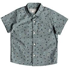 Детская QUIKSILVER рубашка с коротким рукавом Mini Motif