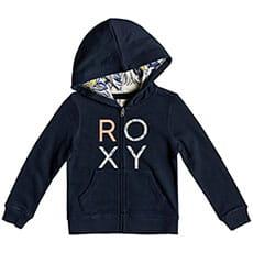 Толстовка классическая детская Roxy Make It Easy Dress Blues