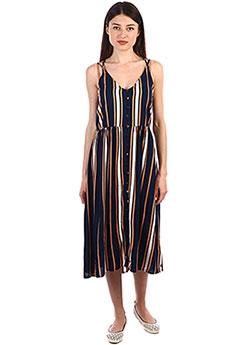 Платье женское Roxy Sunset Beauty Dress Blue Macy Stri