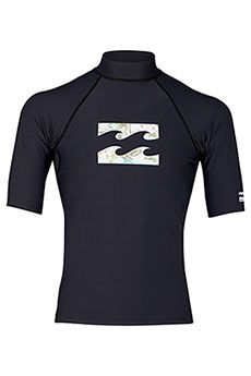 Рашгард Billabong Team Wave Ss Black