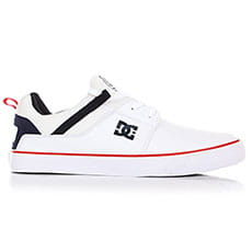 Кеды низкие DC Heathrow Vulc White/Navy
