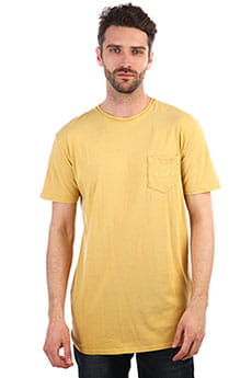 Мужская футболка QUIKSILVER Falsefacesopckt Rattan