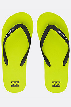 Вьетнамки Billabong Tides Solid Lime 8457-15