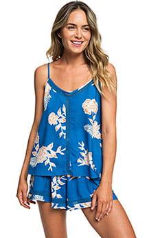 Топ женский Roxy Floral Slow J Wvtp Mykonos Blue Eglanti