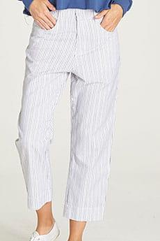 Штаны прямые женские Element Rumi Pant White