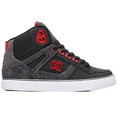 Кеды высокие DC Shoes Pure Ht Wc Se Black/Red-12