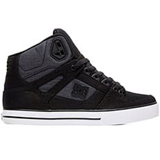 Кеды высокие DC Shoes Pure Ht Wc Tx se Black Dark Used