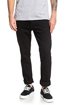 Узкие мужские джинсы Distorsion Black Black Quiksilver