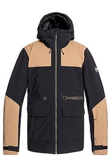 Куртка утепленная QUIKSILVER Arrow Wood Jk Black