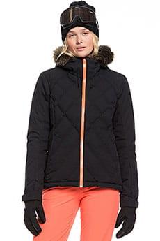 Куртка утепленная женская Roxy Breeze Jk True Black