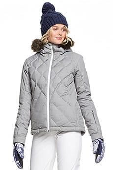 Куртка утепленная Roxy Breeze Jk Heather Grey