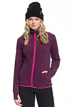 Толстовка сноубордическая женская Roxy Harmony Beetroot Pink