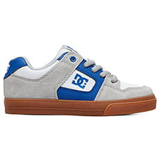 Кеды низкие DC Shoes Pure Grey/Blue/White
