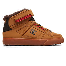Кеды зимние детские DC Shoes Pure Ht Wnt Ev Wheat/Dk Chocolate