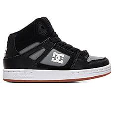 Кеды высокие детские DC Shoes Pure Ht Black/Grey