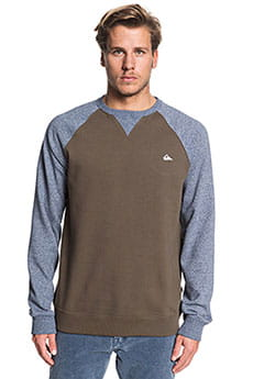 Толстовка свитшот QUIKSILVER Everydaycrew Crocodile