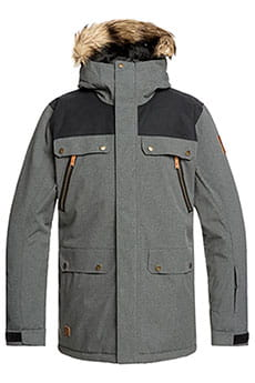 Куртка утепленная QUIKSILVER Selector Jk Black Heather