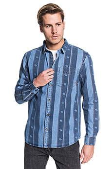 Рубашка QUIKSILVER Buffeloslope Blue Used Buffelo