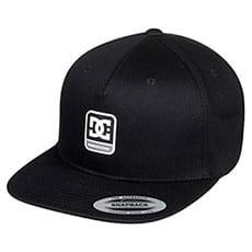 Бейсболка DC Shoes Snapdragger Black