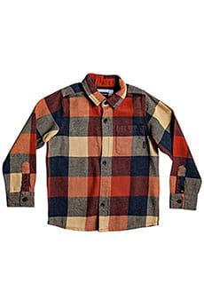 Детская QUIKSILVER рубашка с длинным рукавом Motherfly Flannel