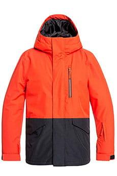 Куртка утепленная детская QUIKSILVER Mission Y Poinciana