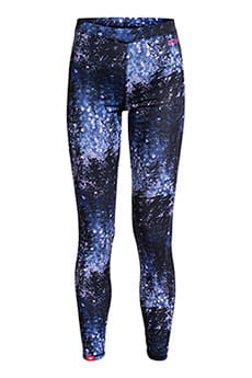 Термобелье (низ) женское Roxy Daybreak Bottom Bte2 Medieval Blue Sparkl