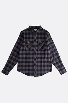 Рубашка в клетку Billabong All Day Flannel Ls Black-16