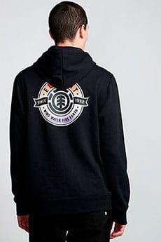 Толстовка кенгуру Element Medallian Ho Flint Black-2