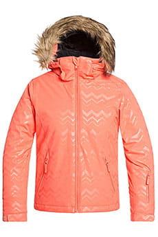 Куртка утепленная детская Roxy Jet Ski Sol Living Coral Aztecsp