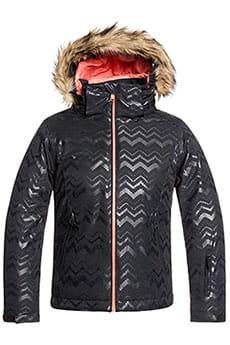 Куртка утепленная детская Roxy Jet Ski Sol G J G True Black Aztecspir