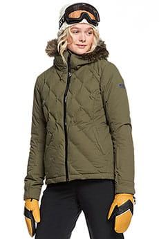 Куртка утепленная женская Roxy Breeze Green