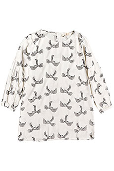 Платье детское Roxy Free Island Snow White Flight