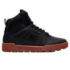 Ботинки зимние DC Shoes Pure Ht Wr Boot Black/Gum