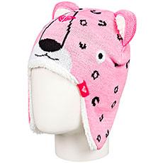 Детская  шапка с ушами ROXY Leopard