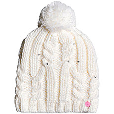 Шапка Roxy Sh Star Beanie Bright White