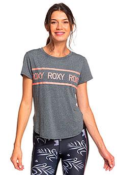 Футболка женская Roxy Shine On Me Tee Charcoal Heather