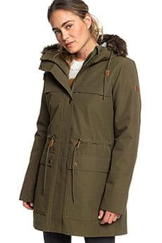Куртка парка женская Roxy Amy 3n1 Ivy Green