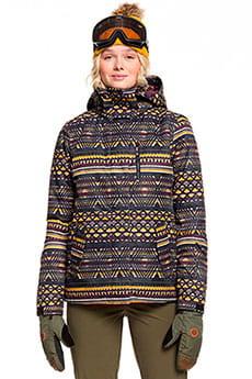 Куртка сноубордическая женский Roxy Jetty True Black New Geome