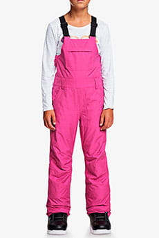Комбинезон сноубордический детский Roxy Non Stop Bib Beetroot Pink
