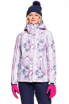 Куртка сноубордическая женский Roxy Jetty Medieval Blue Labyri