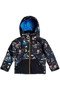 Куртка сноубордическая детский QUIKSILVER Little Miss Black Snow Party