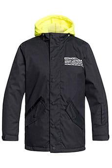 Куртка утепленная детская DC Shoes Union Black
